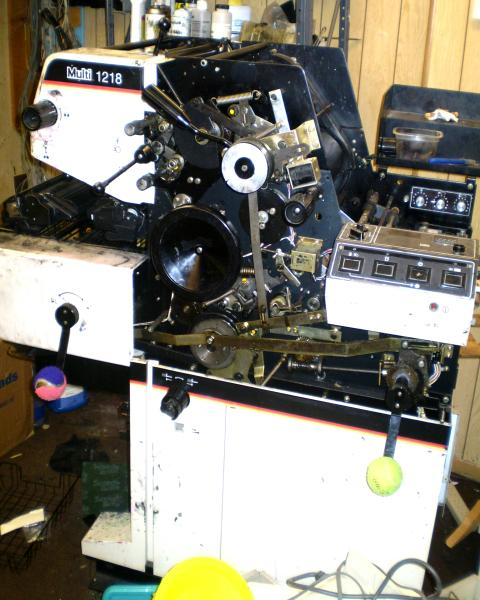 We sell Used Printing Equipment, Repair Service and Parts